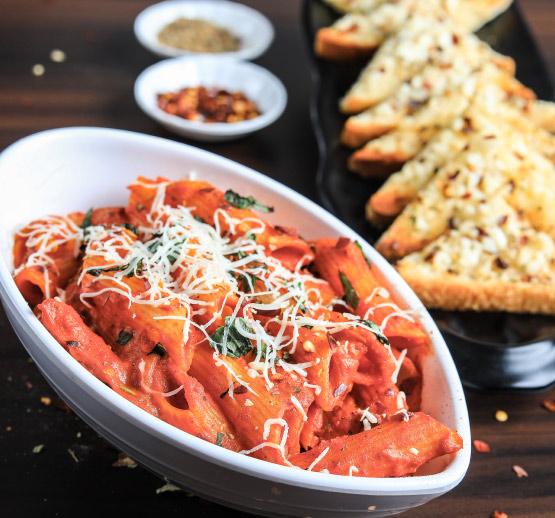 Best Red Italian Pasta in JVLR